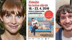 Oslavte Světový den knihy s Hankou Vágnerovou a Vaškem Jílkem na akci Kniha ti sluší