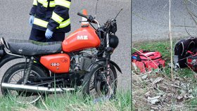 Dominik narazil na motorce do pilíře: Život mu zachránil anděl v SUV. Policie hledá viníka