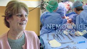 Věra (64) z Nemocnice Motol: Nádor plic jí prorůstal do srdce!