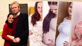 Těhulka Něrgešová se čtyři roky pokoušela otěhotnět: Dvě bolestivá zklamání málem neustála!