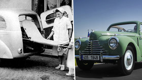 Škoda Tudor slaví 70: Výrobou dvoudveřáku Škodovka odstartovala novou éru