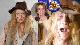 Copak to je za trhana? To je přece Ivana Chýlková coby Rednex v show Tvoje tvář má známý hlas!
