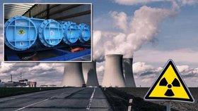 Ocelové kontejnery, tajná mise: Do Temelína dorazilo jaderné palivo za miliardy