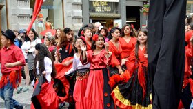 Romský týden v Brně je největší v Česku: Zábava, jídlo i pieta