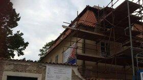 Práce na Werichově vile se opět rozjedou naplno. Hotovo bude do prosince
