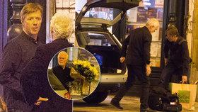 Langmajer oslavil 50. narozeniny na jevišti: S dary a květinami mu přijel pomoct tatínek!