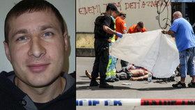 Ubodal cizince v Praze před zraky kolemjdoucích: Vrahovi z Florence hrozí 18 let