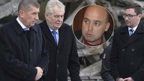 Odborník: Policejní krize otřásá vládou, Babiš a Zeman si mnou ruce