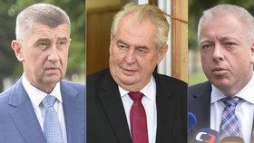 """Chovanec odsoudil Zemanova slova o policii: """"Narušuje důvěru v politiku"""""""