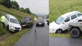 Řidička (66) vyvázla s podmínkou: »Sjetá« jela po dálnici v protisměru, zranila tři lidi