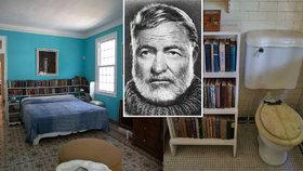 Hemingwayovu pozůstalost na Kubě ohrožují termiti a počasí: Zachrání ji americká nadace