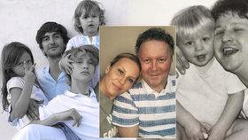Celebrity přály tatínkům ke Dni otců: Kdo svému tatínkovi jako by z oka vypadl?