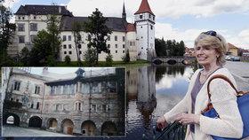 Životní příběh Jany Hildprandtové Germenisové (69) z Blatné: Baronka 40 let putovala světem, teď pečuje o perlu jižních Čech!