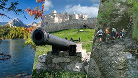 Slovensko, úžasná dovolená za hubičku