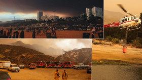Apokalypsa ve městě andělů: Los Angeles zasáhly obrovské požáry!