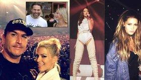 Rihanna ohromila Česko: Jágr s Kopřivovou se na ni chystali celý den!