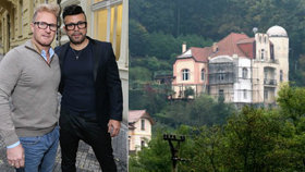 """Luxusní obydlí Osmana Laffity je v exekuci. """"Neřešíme to,"""" tvrdí návrhář Dagmar Havlové"""