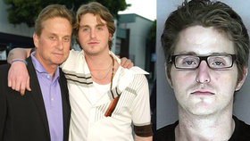 Syna Michaela Douglese pustili po sedmi letech z kriminálu! Bral heroin až 6x denně