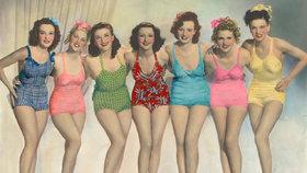 100 let plavek: V čem se koupaly naše babičky a kdy se začal ukazovat pupík?