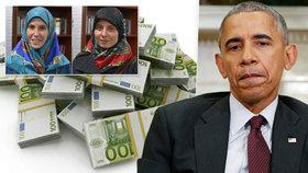 150 milionů za unesené Češky? USA tajně vykoupily své občany za 9,6 miliardy