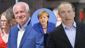 """Klaus se nepohodl se synem kvůli odchodu z EU. Merkelová a migranti to """"slízli"""""""