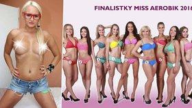 Krásná finalistka Miss Aerobik: Konec kvůli tvrdému pornu!
