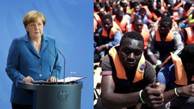 Merkelová tlačí na německé giganty: Zaměstnejte migranty a ulevte státní kase