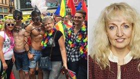 Poslankyně Nytrová opět útočí: Účastníci Prague Pride dělají užitečné idioty