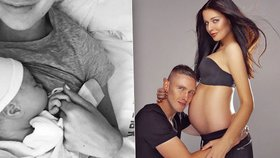Krásná Miss Chlebovská: Další fotky novorozené dcery a dojemné vyznání!