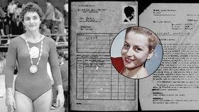 Odtajněný archiv StB: Ženu, která donášela na Čáslavskou, fízlové označili za primitiva!