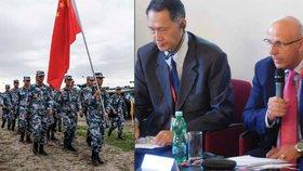 Čínský generál v Praze: Naše armáda není hrozba, džihádisté z ISIS ano