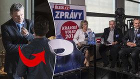 Zlínská debata Blesku: Čunek se zlobil v zákulisí. Proč byla jeho židle prázdná?