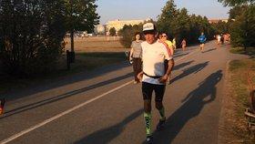 Důchodce Štefan (65) uběhl za 10 dní 616 kilometrů. Už měl i halucinace