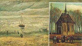 Krádež obrazů van Gogha za tři čtvrtě miliardy: Našly se v mafiánské skrýši v Neapoli