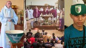 Ve Francii otevřeli kostel, kde vraždili islamisté. Mrtvého kněze blahořečí
