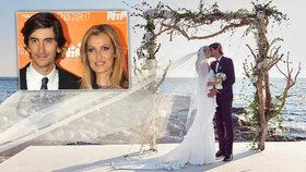 Svatba jako z pohádky: Tereza Maxová se vdala!