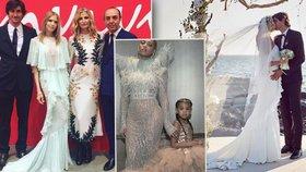 Tajemství svatebních šatů Terezy Maxové: Ušil je návrhář Beyoncé!