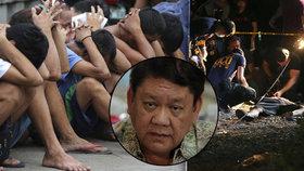 Filipínský prezident dál vyvražďuje dealery. Nechal zabít i starostu