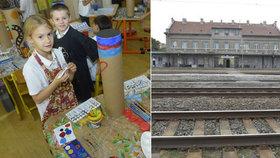 Transporty Židů z bubenského nádraží připomene hromadné bubnování: Bubny vyrobili studenti pražských škol