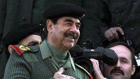 Saddám Husajn si před popravou užíval zahrady, hip hopu a rotopedu, tvrdí vojáci