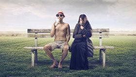 Souboj pohlaví: Proč je nám pořád zima, a muži padají vedrem?
