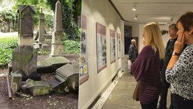 Opravený Malostranský hřbitov má i vlastní výstavu. Překvapí vás svými texty