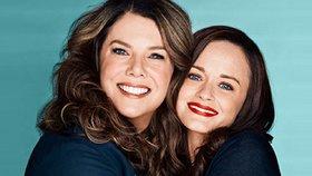 Nový trailer Gilmorek: Lorelai podlehla plastikám, Rory vypadá skvěle