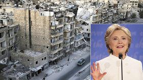 Clintonová může způsobit 3. světovou válku, straší Američany Trump