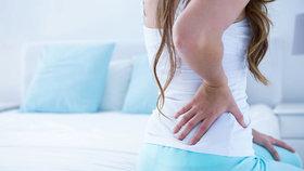 Příčinou může být špatná židle i stres, aneb 5 rad jak na bolesti zad