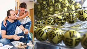 Česko má 273 nových milionářů. Štěstí nosila v loterii čísla 41 a 43
