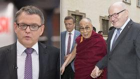 """V hádce o dalajlamu vítězem Zaorálek. Herman """"sklopil uši"""", duel zrušili"""