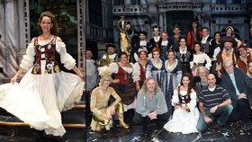 Mefisto a Markéta mají oblečení za miliony: Nový český muzikál měl premiéru v Divadle Hybernia