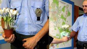 Dívka se pokusila o sebevraždu kvůli dluhům: Zachránci poděkovala květinou