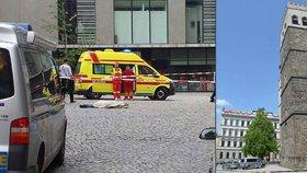 Muž (†44) skočil z věže kostela v Olomouci: Pád nepřežil